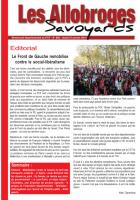 Les Allobroges - N°892 - 21 Janvier 2O14