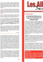 Les Allobroges - N°919 - 31 Mars 2O15