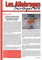 Les Allobroges - N°900 - 13 Mai 2O14