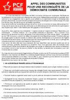 [Arlysère] Appel des communistes pour une reconquête de la démocratie communale