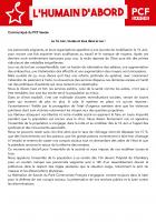 [Communiqué de Presse] Le 16 Juin, toutes et tous dans la rue