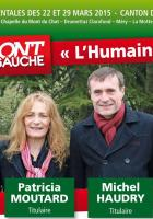 Vos candidat-e-s pour le canton de la Motte Servolex