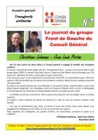 Le journal du FdG du conseil général - spécial Transports scolaires