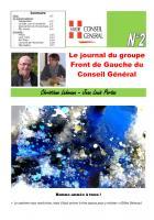 Le journal du FdG du conseil général - Janvier 2O13