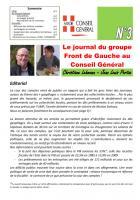 Le journal du FdG du conseil général - Février 2O13