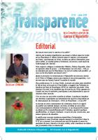 Transparence n°14 - Janvier 2O14