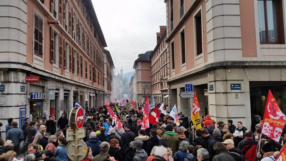 Gallerie photos - 9 Mars, mobilisé-e-s contre la Loi Travail - #OnVautMieuxQueCa