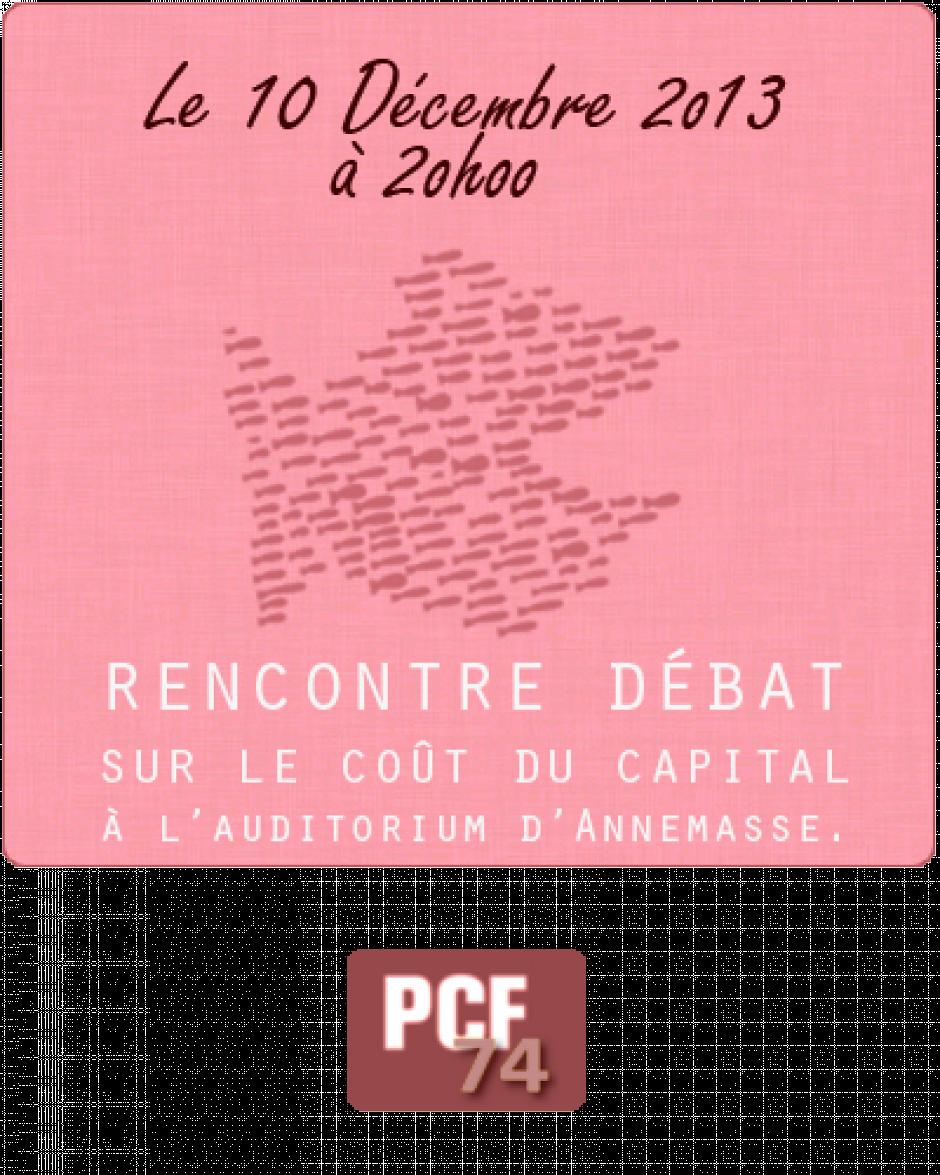 Rencontre débat à l'auditorium d'Annemasse