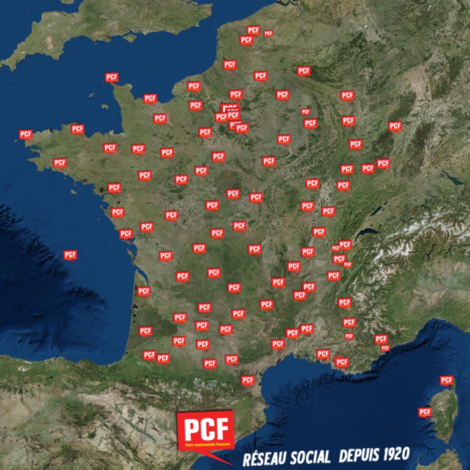 Le PCF, réseau social depuis 1920