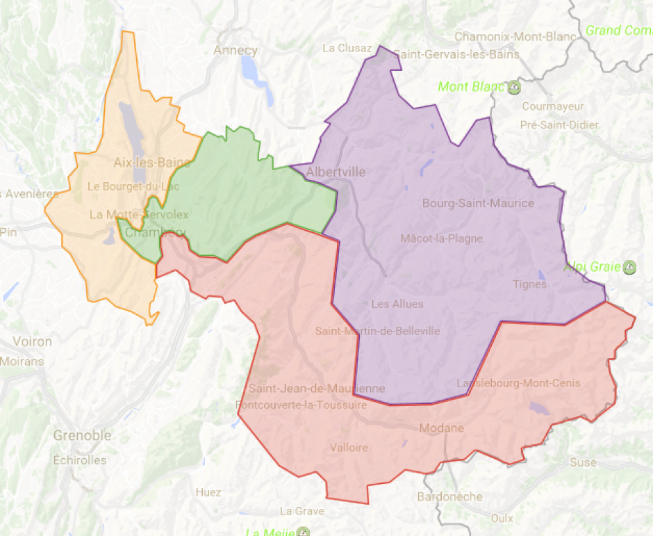 Legislatives 2017 en Savoie, dans quelle circonscription je vote ?
