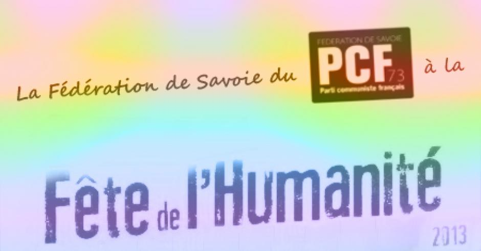 La fédération de Savoie à la fête de l'Huma...