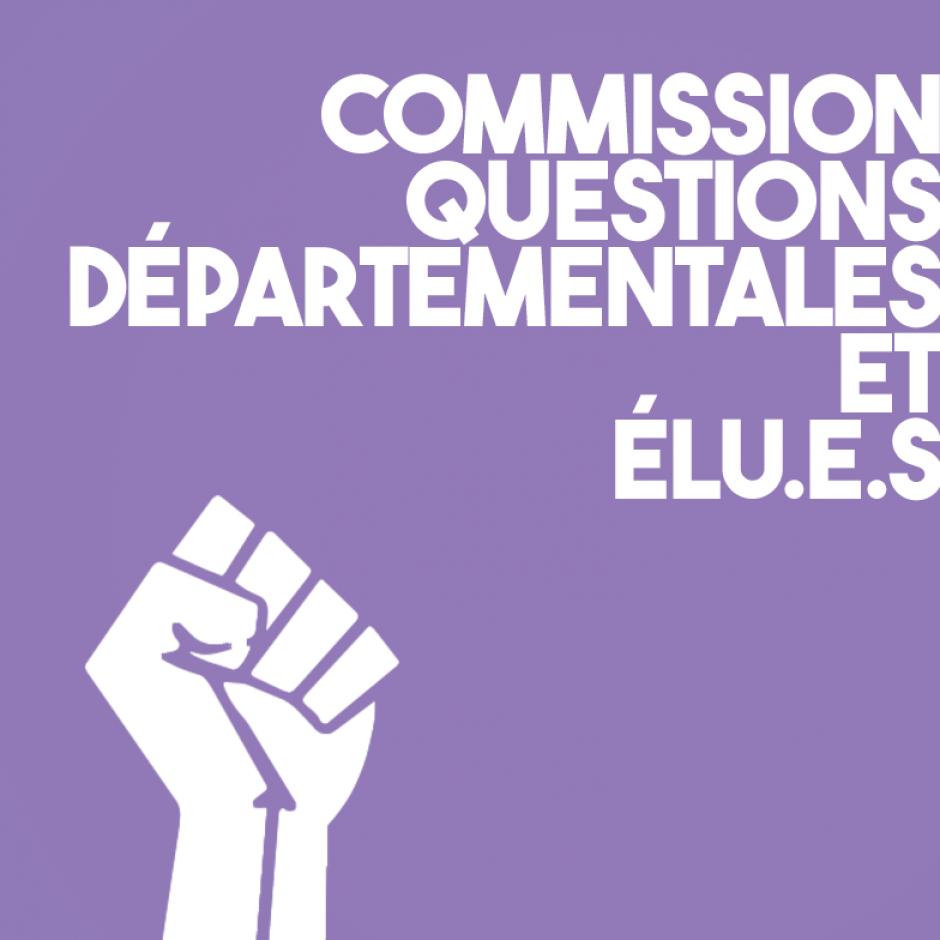 Commission sur les questions départementales & élus