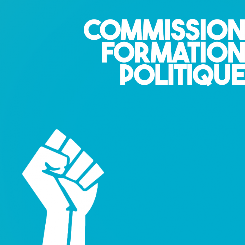Commission Formation politique
