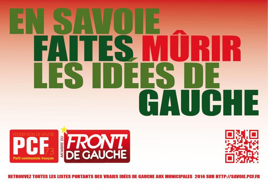 Candidatures du Front de gauche aux élections départementales de mars