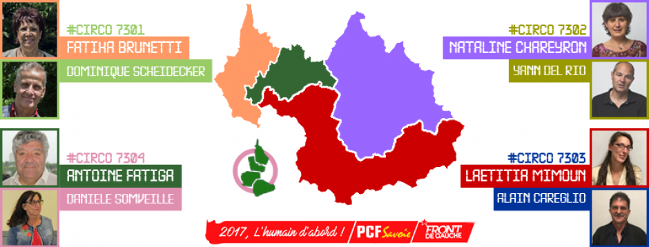 Législatives 2017 en Savoie