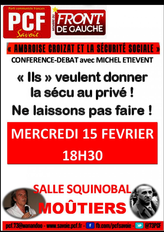 Ambroise Croizat et la sécurité sociale - Moûtiers