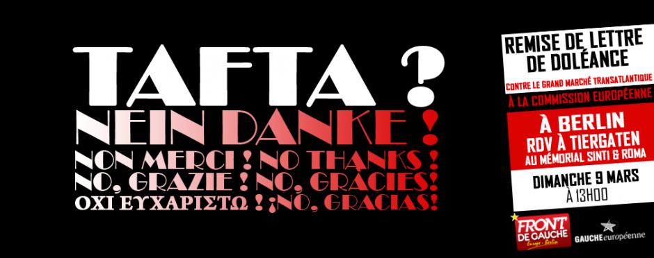 Stop Tafta - Berlin - 9 Mars