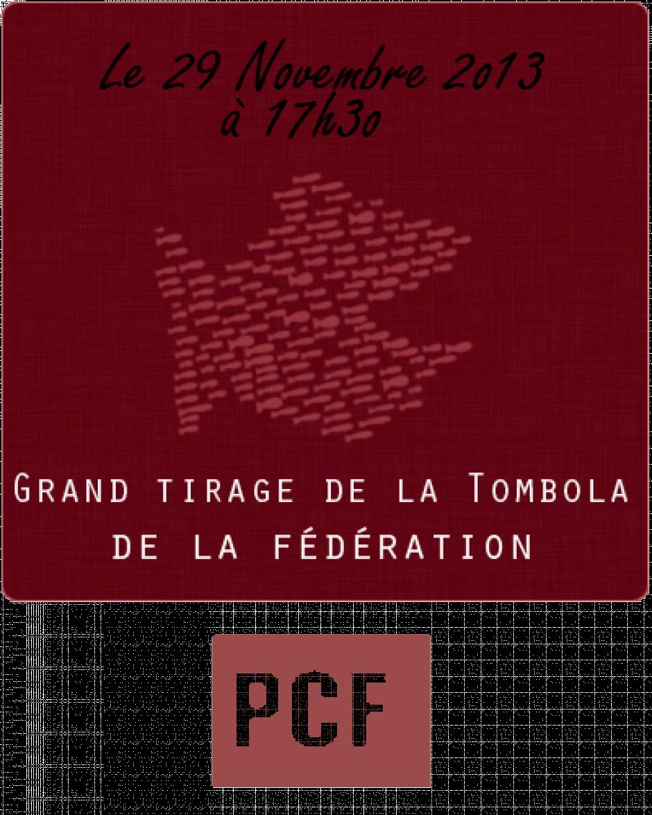 Grand tirage de la Tombola de la fédération PCF de Savoie