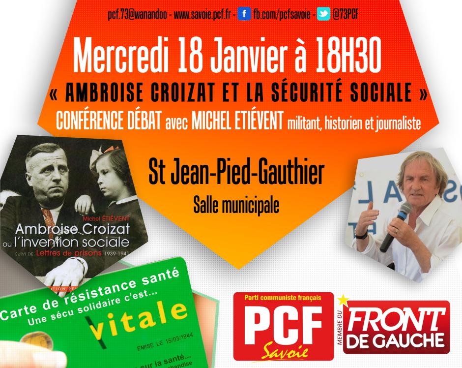 Ambroise Croizat et la sécurité sociale