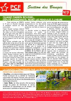 Bulletin des Bauges N°17 - Juin 2021