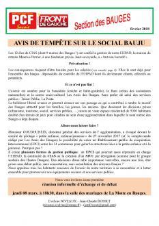 Bulletin des Bauges - Fevrier 2018
