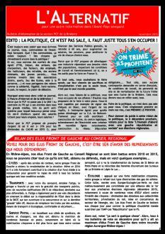 Alternatif n°4 - Novembre 2015 - Spécial Elections Régionales