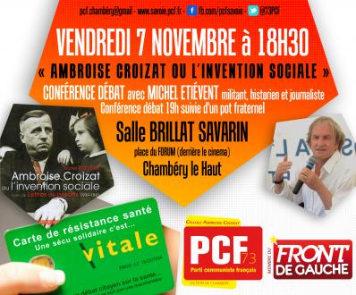 [Les Hauts de Chambéry] Conférence de Michel Etiévent