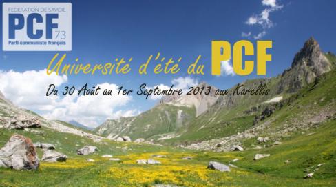Université d'été du PCF - Les karellis